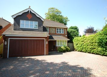 Thumbnail 5 bedroom detached house to rent in Hersham Road, Walton On Thames, Surrey