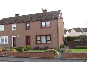Thumbnail 3 bedroom semi-detached house for sale in Allerley Crescent, Jedburgh