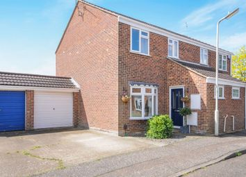 Thumbnail 3 bed semi-detached house for sale in Peggotty Close, Chelmsford