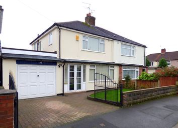 Thumbnail 3 bed semi-detached house for sale in Cherry Tree Road, Huyton, Liverpool