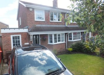 Thumbnail 3 bed semi-detached house for sale in The Pastures, Mansfield Woodhouse