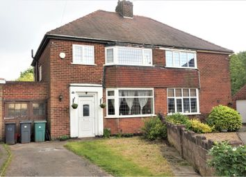 Thumbnail 3 bed semi-detached house for sale in Greenfields Drive, Coalville