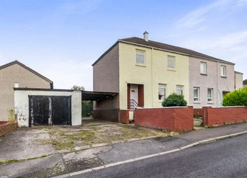Thumbnail 3 bed semi-detached house for sale in Mcturk Road, Cumnock