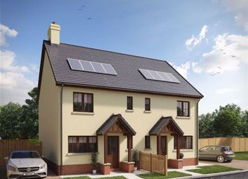 Thumbnail 3 bedroom semi-detached house for sale in Mill Bay Development, Cilgerran, Pembrokeshire