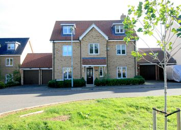 Thumbnail 5 bed detached house for sale in Anvil Way, Kentford, Newmarket