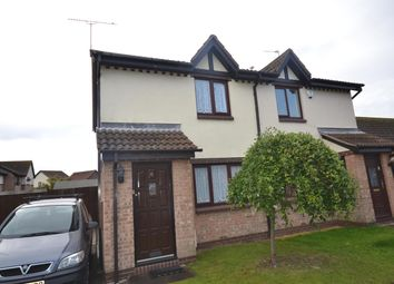 Thumbnail 2 bedroom semi-detached house to rent in Western Drive, Starcross, Exeter
