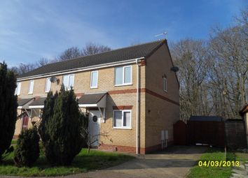 Thumbnail 2 bed end terrace house to rent in Holly Close, Worlingham, Beccles