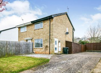 Thumbnail 2 bed semi-detached house for sale in Nordale Rise, Barry