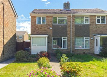 Thumbnail 3 bed semi-detached house for sale in Coleridge Crescent, Goring-By-Sea, Worthing