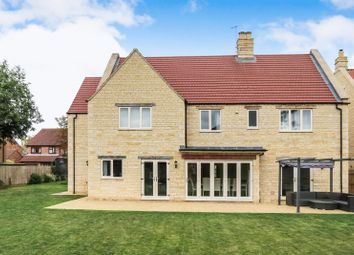Thumbnail 5 bed detached house for sale in Baston, Peterborough