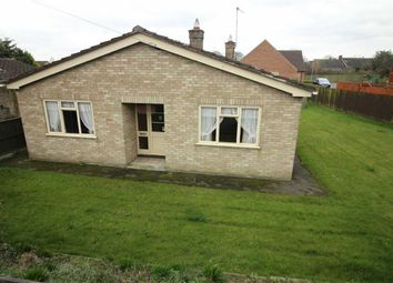 Thumbnail 3 bed bungalow for sale in Mill Road, Market Rasen
