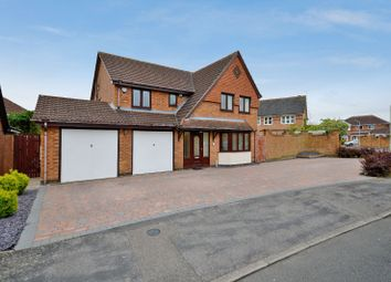 Thumbnail 5 bed detached house for sale in Raine Way, Oadby, Leicester