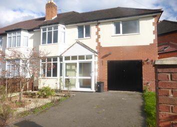 Thumbnail 4 bedroom property to rent in Bradstock Road, Kings Norton, Birmingham