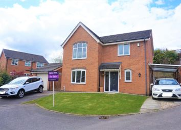 Thumbnail 4 bed detached house for sale in Furnace Close, Wrexham