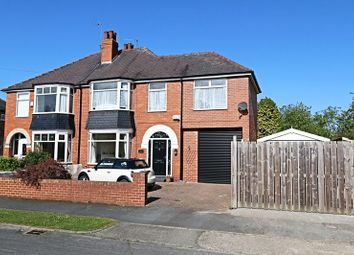 Thumbnail 3 bedroom semi-detached house for sale in Beech Avenue, Willerby, Hull