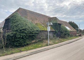 Queen Court Barns, Water Lane, Ospringe, Faversham, Kent ME13. Barn conversion for sale