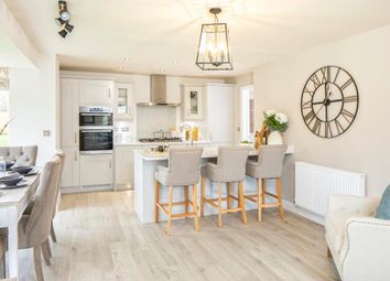 "Thumbnail 4 bedroom detached house for sale in ""Cornell"" at Murch Road, Dinas Powys"