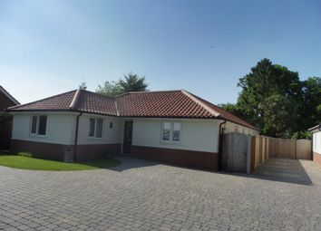 Thumbnail 4 bed detached house for sale in Poringland Road, Stoke Holy Cross, Norwich
