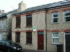 Thumbnail 2 bed terraced house to rent in Suez Road, Cambridge