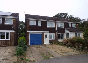 Thumbnail 3 bed semi-detached house for sale in Goldsmith Drive, Newport Pagnell, Milton Keynes, Bucks