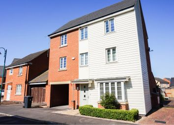 Thumbnail 4 bed detached house for sale in Bridle Lane, Peterborough
