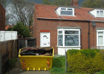 Thumbnail 2 bed semi-detached house for sale in Highfield Terrace, Walker, Newcastle Upon Tyne