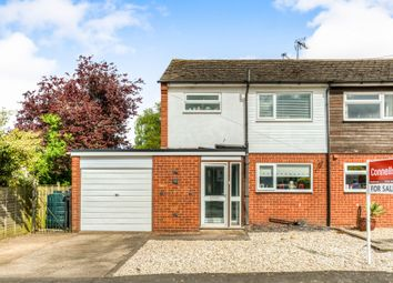 Thumbnail 3 bedroom semi-detached house for sale in Avon Close, Ettington, Stratford-Upon-Avon