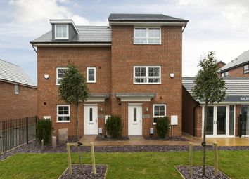 "Thumbnail 4 bedroom semi-detached house for sale in ""Haversham"" at Somerset Avenue, Leicester"