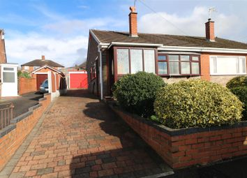 Thumbnail 2 bedroom semi-detached bungalow for sale in Gleneagles Crescent, Birches Head, Stoke-On-Trent