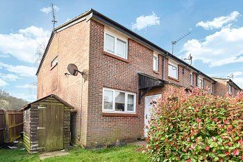 Thumbnail 2 bed end terrace house for sale in Wilmington Close, Tollgate Hill, Crawley