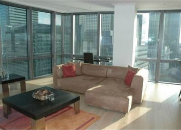 Thumbnail 1 bed flat to rent in No. 1 West India Quay, Hertsmere Road, Canary Wharf, London