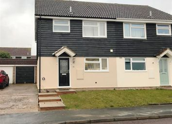 Thumbnail 3 bed semi-detached house for sale in Hollybush Way, Linton, Cambridge
