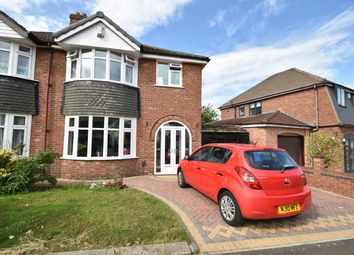 Thumbnail 3 bed semi-detached house for sale in Sandown Road, Sunny Bank, Bury
