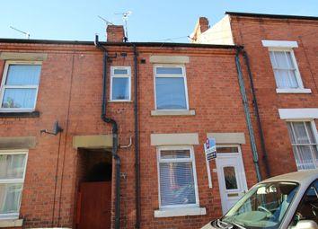 Thumbnail 2 bed terraced house for sale in Belvoir Street, Hucknall, Nottingham