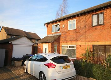 Thumbnail 3 bed semi-detached house for sale in Aquitaine Close, Duston, Northampton