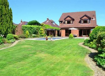 Thumbnail 4 bed detached house for sale in Saunders Way, Derwen Fawr
