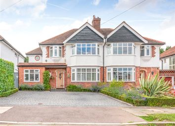 Thumbnail 4 bed semi-detached house for sale in Snaresbrook Drive, Stanmore
