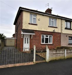 Thumbnail 3 bed semi-detached house for sale in Grange Road, Worsley, Manchester