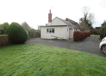 Thumbnail 2 bed bungalow to rent in City Lane, Four Crosses, Llanymynech, Powys
