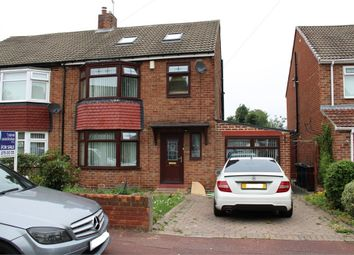 Thumbnail 4 bed semi-detached house for sale in Bournemouth Gardens, Newcastle Upon Tyne, Tyne And Wear