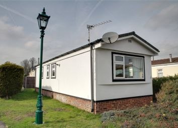 Thumbnail 2 bed mobile/park home for sale in Jay Avenue, Meadowlands, Addlestone, Surrey