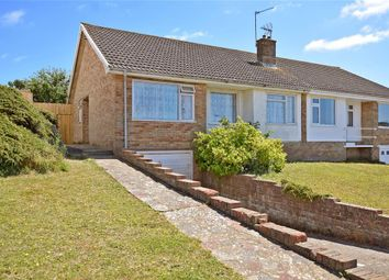 Thumbnail 2 bed semi-detached bungalow for sale in Lewes Close, Saltdean, Brighton, East Sussex