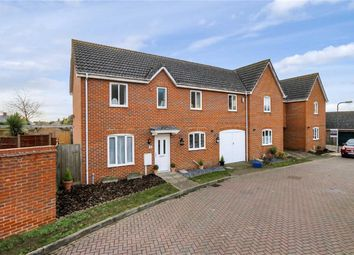 Thumbnail 4 bed end terrace house for sale in Edwards Croft, Bradville, Milton Keynes, Buckinghamshire