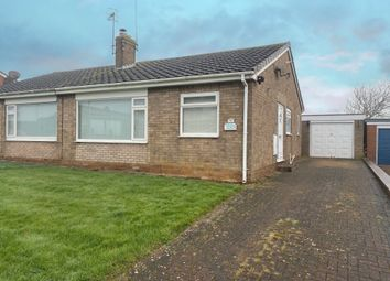 Thumbnail 2 bed semi-detached bungalow for sale in Meadow Lane, Eastfield, Scarborough