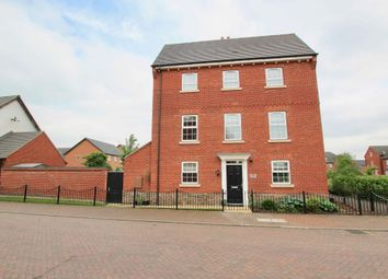 Thumbnail 4 bed town house for sale in Empingham Drive, Syston