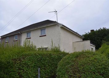 Thumbnail 3 bed semi-detached house for sale in Penygraig Road, Townhill, Swansea
