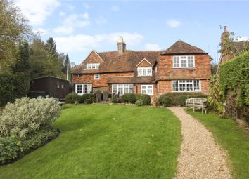 Thumbnail 4 bed detached house for sale in Brook Road, Sandhills, Godalming, Surrey