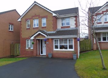 Thumbnail 4 bed detached house for sale in Dundrennan Drive, Chapelhall, Airdrie