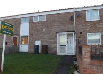 Thumbnail 3 bedroom terraced house for sale in Tamar Drive, Smiths Wood, Birmingham, West Midlands