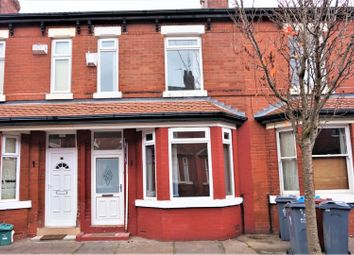 Thumbnail 3 bed terraced house for sale in Blenheim Avenue, Whalley Range